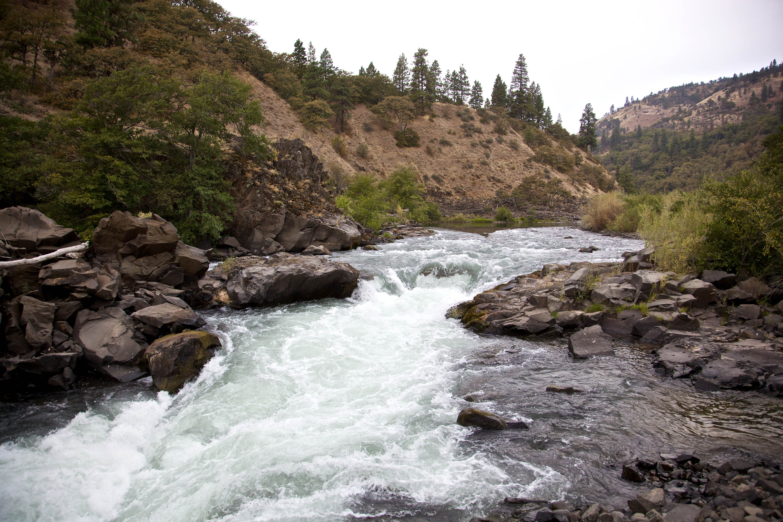 Free photograph; klickitat, river, scenic