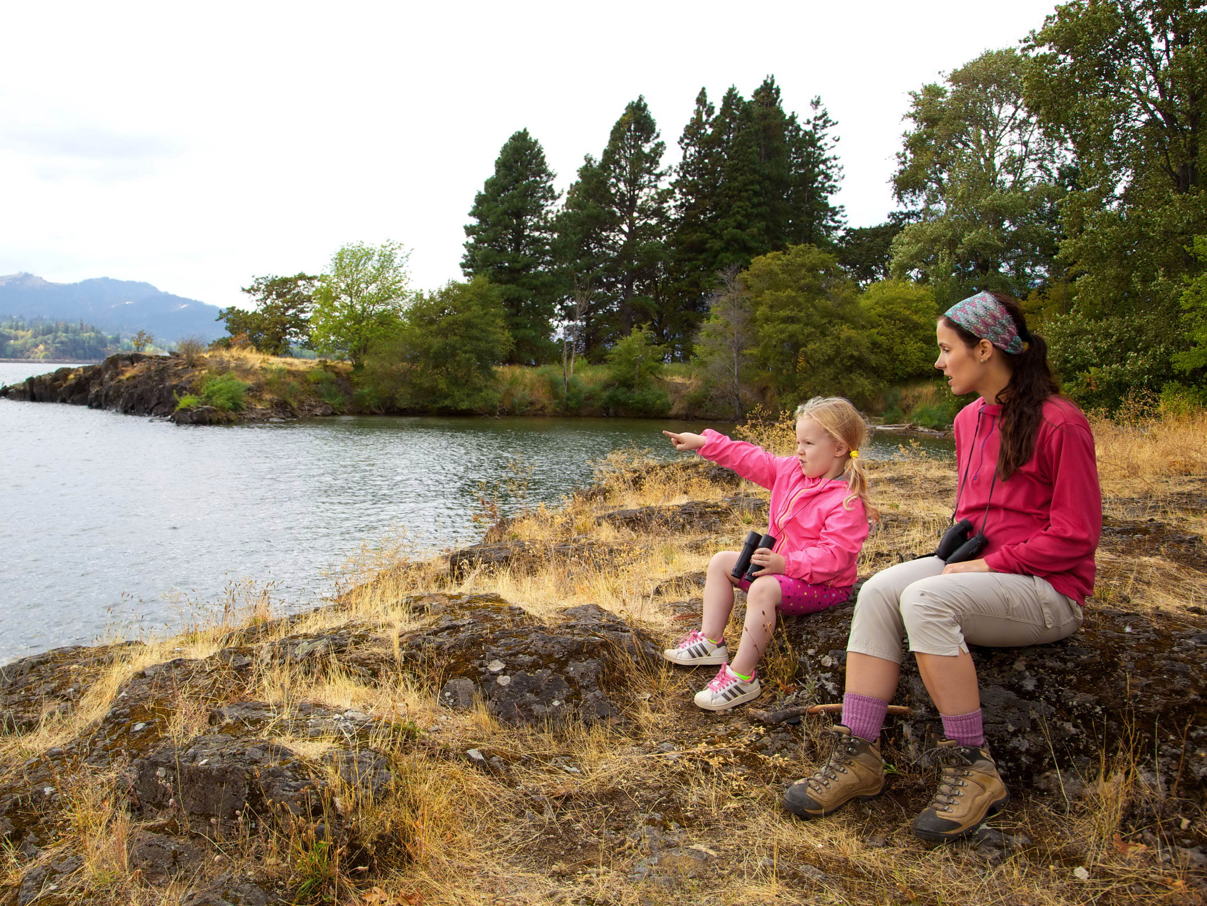 Free photograph; leisure, activities, mother, child, nature