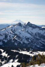 cold, landscape, peak, trees, winter