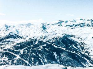 altitudine, il freddo, la luce del giorno, gelo, congelato, ghiacciaio, neve, inverno, panorama