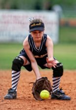 baseball, catcher, athlete, ball, fun, game, glove, hands