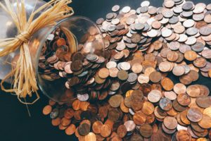 cash, coins, money, pennies, savings