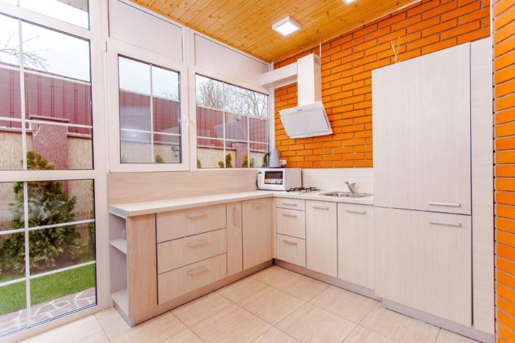 Imagen gratis: cocina, arquitectura, ladrillo, pared ...