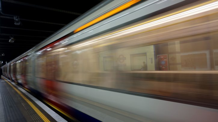 transportation, tunnel, fast, hurry, motion, move, railroad, track, railway, speed, station