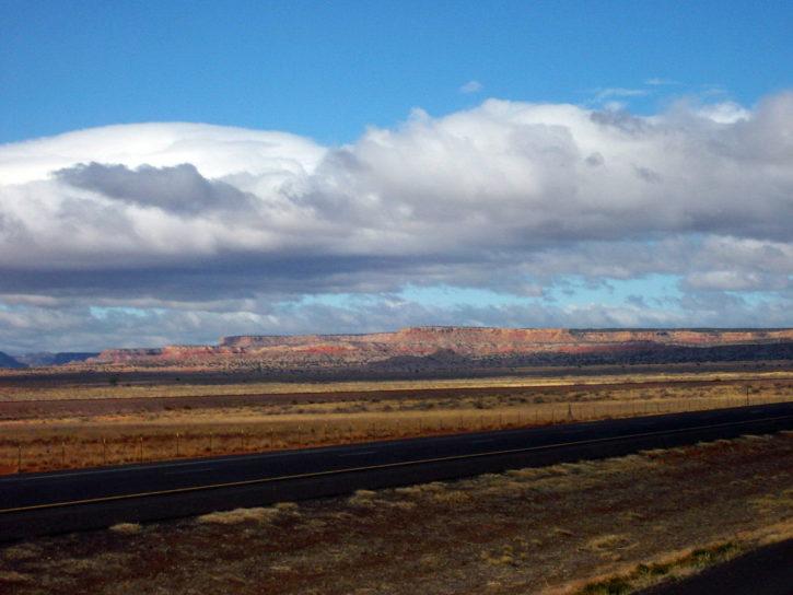 път, магистрала, път, пустинята, природа