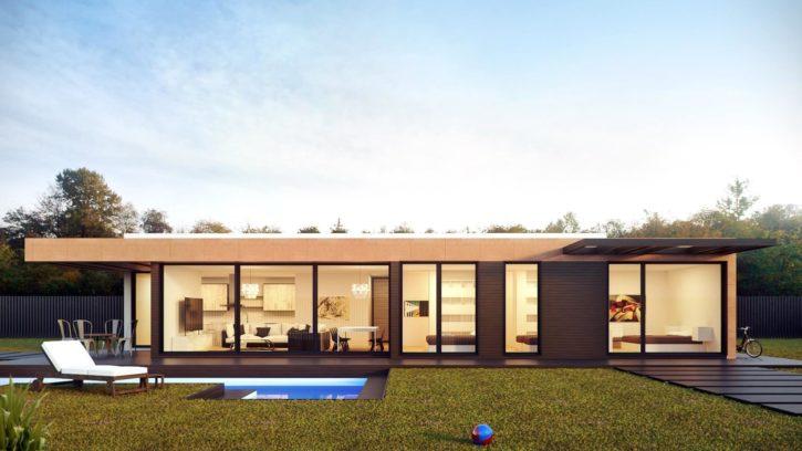 arhitektura, izgradnja, oblaci, nebo, eksterijer, grafike, dom, travnjak
