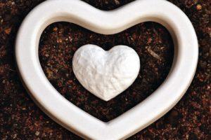 pijesak, oblik, bijela, dizajn, tlo, srce, ljubav