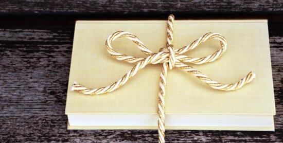 book, gift, celebration, art, retro, rope, symbol