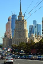cars, city, skyscrapers, street, urban, vehicles