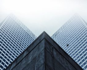 buildings, angle, perspective, windows, modern architecture