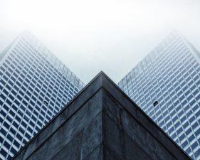 κτίρια, γωνία, προοπτική, windows, μοντέρνας αρχιτεκτονικής