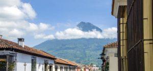 arquitetura, céu azul, chaminé, cidade, apartamento, viagens, urbana, férias, vila
