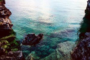 ocean, rocks, scenic, sea, seascape, water, coast, nature