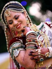 donna indiana, persona, sorridente, bella donna, festa