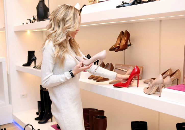 Free Picture Boutique Shopping Shoes Dress Fashion