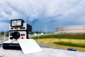 Polaroid-Kamera, Film, Foto