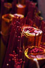 røkelse pinner, duft, tradisjon, bunter, stearinlys
