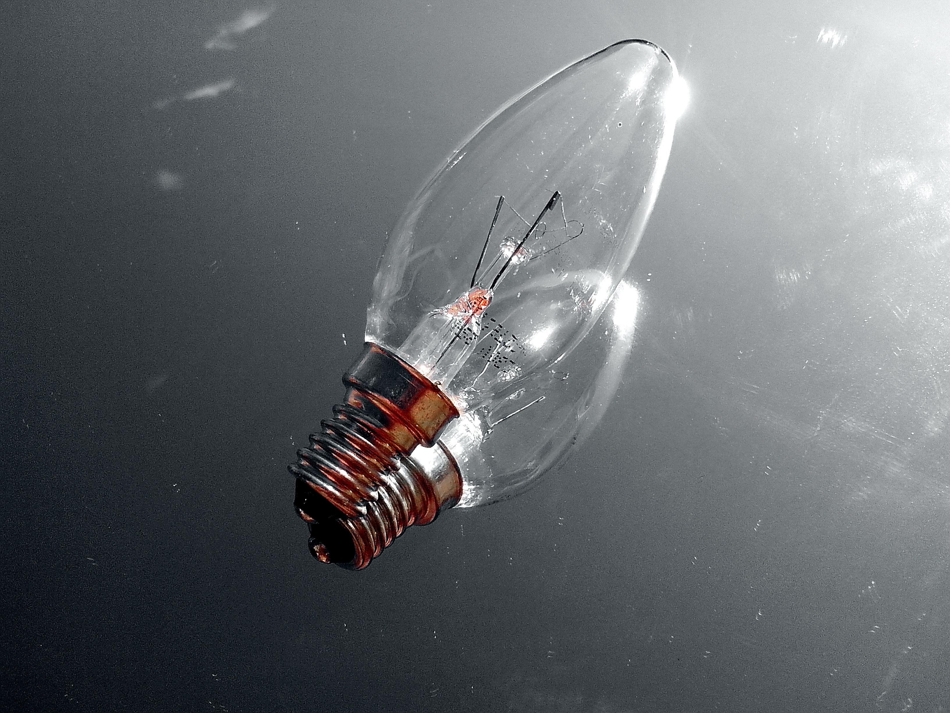 brand new light bulb, E14 bulb