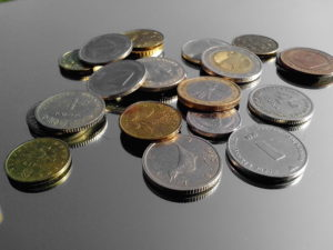 coins, metal coins, money, value, economy