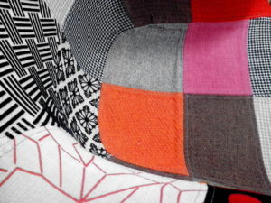 colorful canvas, fabric, armchairs, furniture design, interior design