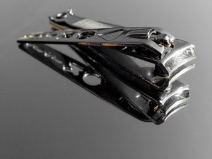 cortaúñas, esmalte de uñas, herramienta