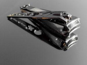 Nail clipper, nagellack, verktyg