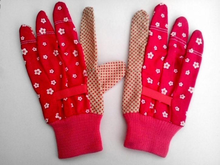 kvinder dekorative handsker, arbejdshandsker