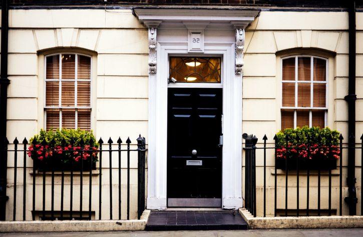facade, home, house, windows, architecture, building, door