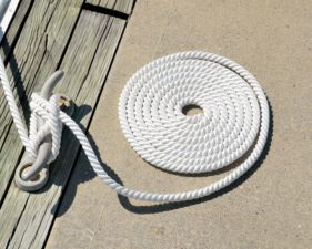 yacht equipment, knot, marine, dock, rope