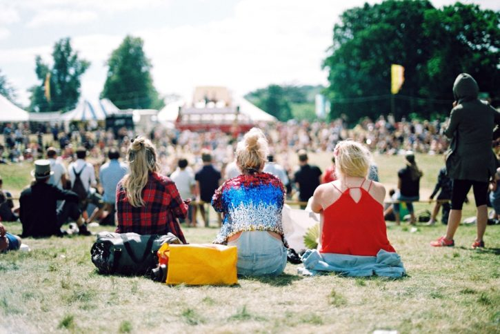 group, leisure time, people, recreation, woman, concert, festival, fun