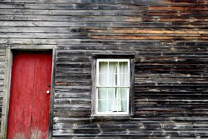 barn, abandoned house, architecture, dirty door, exterior, family house