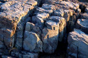 big rocks, geology, texture, nature, beach, ocean, rocks, seacoast, sunlight