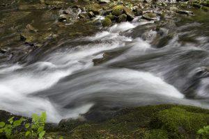 hurtigt river, creek vand, natur, vand, sten