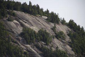 slopes, cliffs, rocky hill