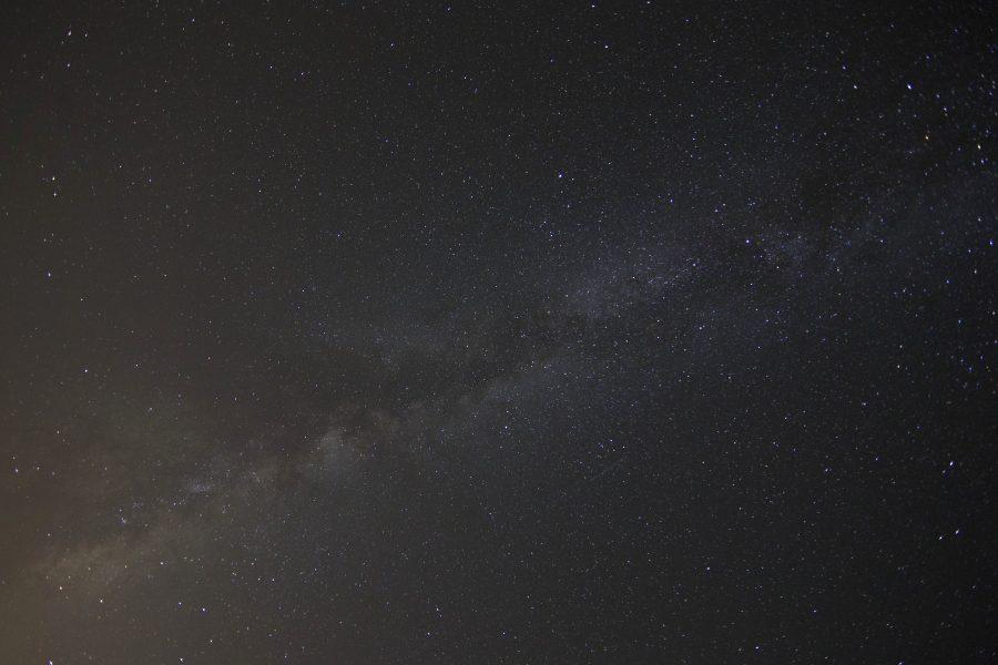 éjszaka, csillagok, Tejútrendszer