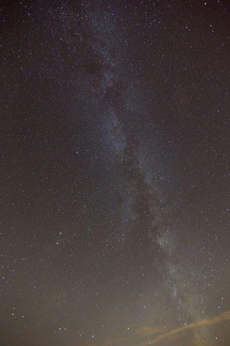 ngôi sao, Thiên Hà milky way, ban đêm, trên bầu trời, những đám mây
