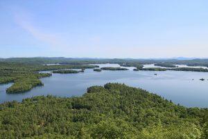 landmarsh, rivière, lumière du jour, l'eau, le lac, les arbres