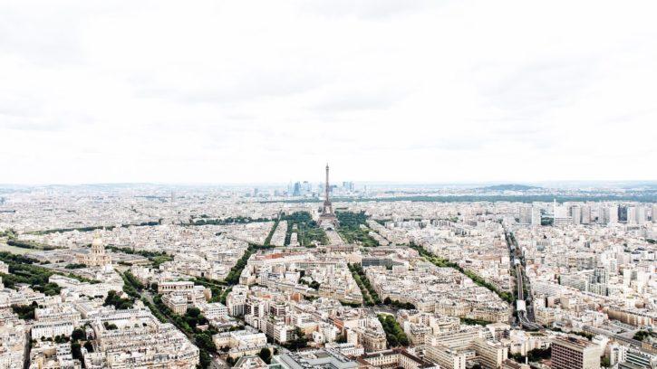 gebouwen, stad, stadslandschap, Eiffeltoren, Parijs