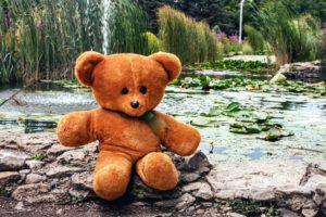 oyuncak ayı, güzel oyuncak, kahverengi, içi doldurulmuş oyuncak, Hediyelik