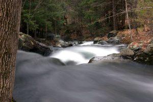 verschwommen Wasser, Strom, Bach, Wasser, Bäume, Felsen, Bach