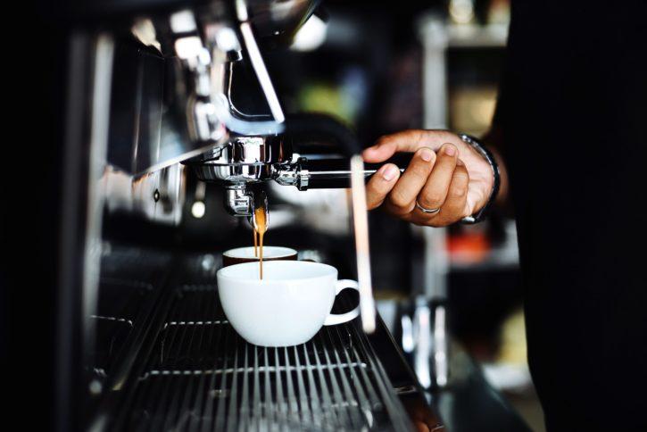 étterem, drink, eszpresszó, szolgáltatás, technológia, kávézó, gép