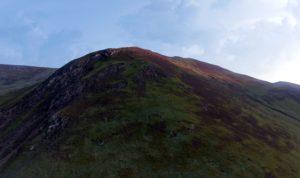 knoll, mountain, landscape, mountains, sky