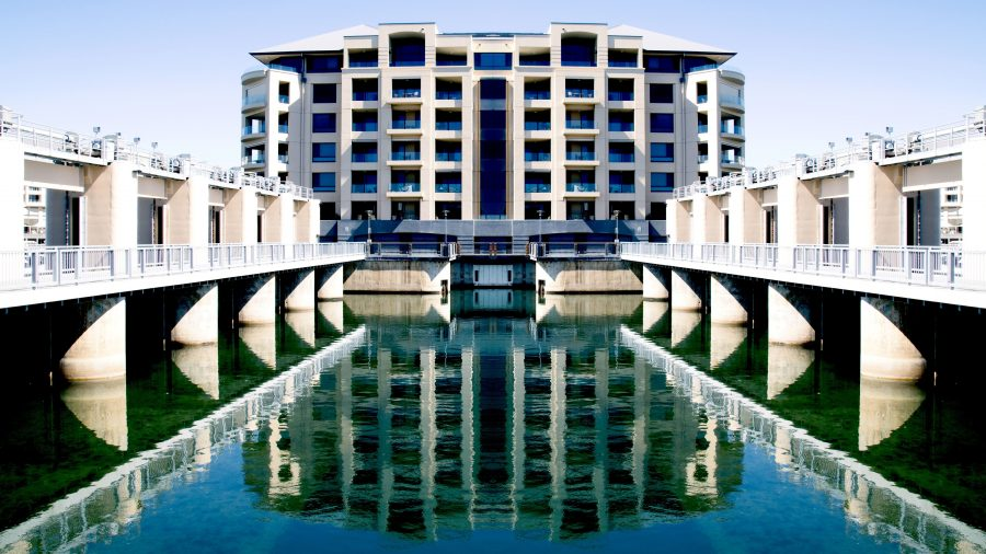 resort, travel, architecture, tourism, sky, building, city, house, water