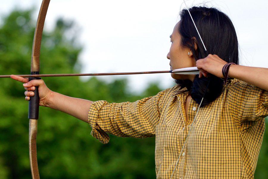 archer, bow, man, sport
