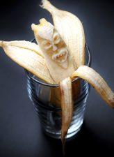 banán, vicces arc, monster