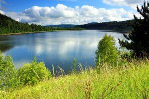 beautiful landscape, lake