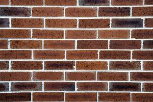 pared de ladrillo, los patrones, muchos ladrillos