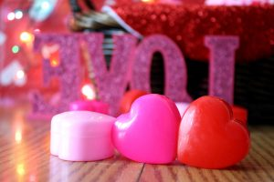 candles, heart, Valentine's day, love