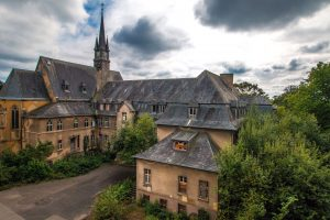 architecture, mansion, building, cloudy sky, europe, castle