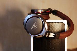Gerät, Elektronik-Kopfhörer, Lautsprecher